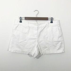 Loft • White Shorts